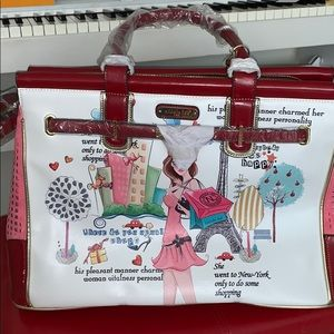Nicole lee gorgeous weekender bag  NY shopper new